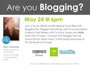 May 24th Blogger Event